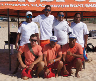The Team At Aries Watersports In Cabo San Lucas