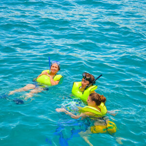 Swimming At Cabo San Lucas Mexico